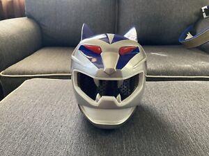 Power Rangers Wild Force Lunar Wolf / Gao Silver full cosplay set + Lunar Cue!