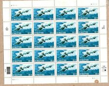UNITED STATES MINT SHEET LOS ANGELES CLASS SUBMARINE 33 CENT