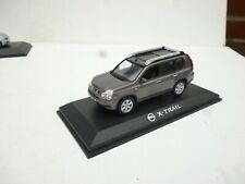 NISSAN  SUV X TRAIL Brown Metallic Gret Old Type NOREV 1/43 On Plateau