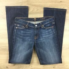 7 For All Mankind Boot Cut Stretch Size 27 Women's Jeans Actual W30 L31.5 (BZ10)