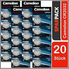 Camelion CR2032 Lithium Knopfzellen im 20er SPARPACK (4 x 5er Blister)