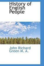 History of English People: By John Richard Green