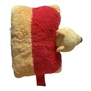Pillow Pets - Winnie The Pooh - Licensed Disney Plush Pillow / Cushion - VGC