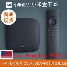 美国现货!2017新版 Xiaomi Box 3S Mi TV BOX 4K 超清 2GB 8GB Media海量电影电视剧 还有综艺节目!