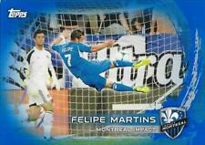 2014 Topps Major League Soccer Base Blue Parallel Card Numbered to /50  #91-#190