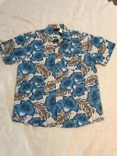 MENS/UNISEX HAWAIIAN SHIRT FROM LOWES SIZELARGE BLUE HIBUSCUS