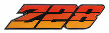 1980 1981 Camaro Z-28 Grille Emblem Z28 Orange Tri Color