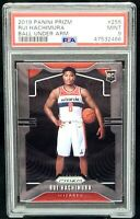 2019 Prizm Variation Wizards RUI HACHIMURA Rookie Card PSA 9 MINT Low Pop 292