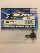 Xray 906210 Phillips Screw Set FH 2.2 X 10 (10)