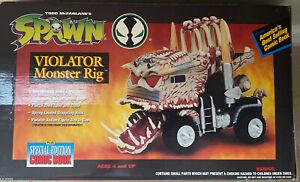 SPAWN VIOLATOR MONSTER RIG 1994 Todd McFarlane TMP Toys Vehicle Complete w/Box