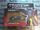 USA New TRANSFORMERS G1 Reissue TRACKS Autobot Warrior Blue Corvette Car Robot