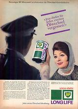 BP-OLIO MOTORE-VISCO-STATIC - 1963-pubblicità con loghi pubblicità-genuineadvertising-NL-commercio di spedizione