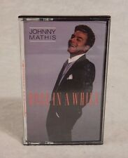 Once in a While by Johnny Mathis (Cassette, 1988, Columbia)