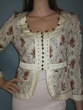CHLOE!!!** Beautiful Vintage Beaded Jacket!! T38