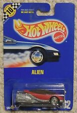 HOT WHEELS Alien Moc New 1990 Collector Card #62