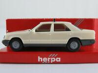 "Herpa 4004 Mercedes-Benz 300 E Limousine (1984-1989) ""TAXI"" 1:87/H0 NEU/OVP"