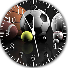 All Sports Balls Frameless Borderless Wall Clock Nice For Gifts or Decor Z124