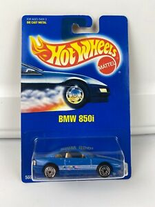 Hot Wheels Blue Card 149 BMW 850i Wheel Variation Rare Sealed