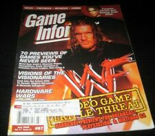 Vintage Game Informer Magazine Nintendo PS Nes Sega video games 2000 issue 87