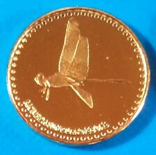 San Andres 2 centavos 2015 UNC Dragonfly St. Catalina Colombia unusual coin