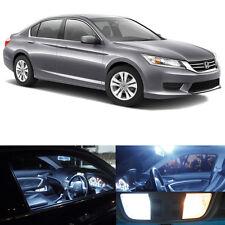 16x Bright White Interior LED Lights Package Kit For 2013-2017 Honda Accord