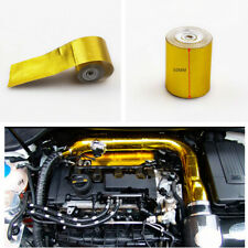 """2""""x 200"""" 2000°F Gold Heat Protection Tape Premium Weave For SUV Car Turbo Engin"""