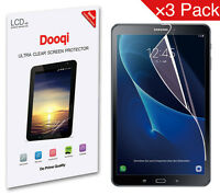 3X Dooqi HD Clear LCD Screen Protector Shield For Samsung Galaxy Tab A 10.1 T580