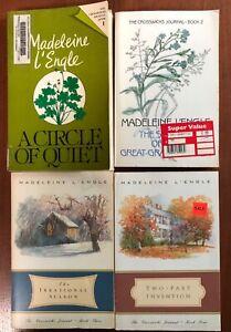 madeline L'Engle book series The Crosswicks Journal. 4 book set