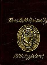 Texas A & M University College Station 1980 Aggieland Yearbook Annual Aggies A&M