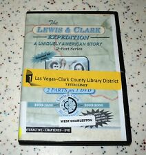 Lewis & Clark Expedition A Uniquely American Story 2 Part Series on 1 DVD
