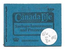 DP4 35p Canada Life Both Panes Miscut Ref 15621