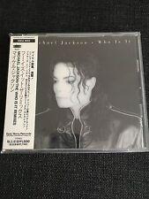 Michael Jackson Who Is It Japan No Promo