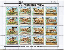 WWF WNF AFGHAN 244 Sheets Mnh. Urial, Wild Sheeps, Wild Animals [A12]