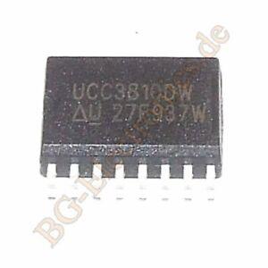 1 x UCC3810DW Dual Channel Synchronized Current-Mode PWM UNITRODE SO-16 1pcs