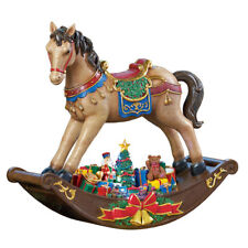 "19"" (48cm) LED Rocking Horse With Christmas Songs Decoration 19 Inch"