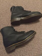 VTG  Rare Dr. Doc Martens D. M. Raiders Exclusive To Shellys Black US 11 boots