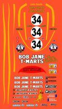 #34 Bob Jane T-Marts Porsche 962 1984 1/64th HO Scale Slot Car Decals