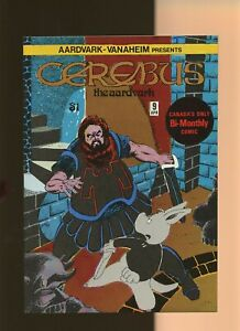 Cerebus the Aardvark 9 NM 9.4 * 1 Book Lot * Dave Sim! Aardvark-Vannahiem 1979!