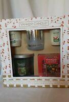 Yankee Candle Tumbler, Votive Holder, Tea Lights, Votive Candles Gift Set  *New*