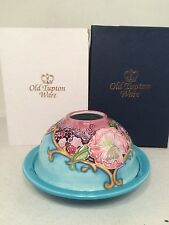 Old Tupton Ware Amethyst Bouquet Des - Domed T-Lite Holder BRAND NEW BOXED