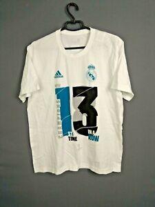 Real Madrid Jersey LARGE Shirt Mens Football Camiseta Trikot Adidas G89666 ig93