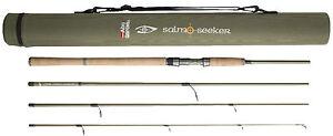 Abu Garcia Salmo Seeker Spin 8ft, 9ft & 10ft 4 Piece Carbon Spinning Fishing Rod