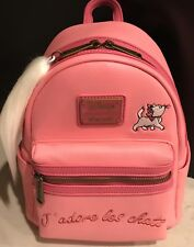 6da1ad2a58a Loungefly Disney The Aristocats Marie Embroidered Les Chats Mini Backpack  Pink