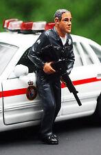 24032, agente di polizia II, 1:24, American Diorama NUOVO, NUOVO 2016 NUOVO, NUOVO
