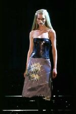 GIANNI VERSACE RUNWAY Fall 1998 RARE Purple Silk Dress Size IT 40 US 4
