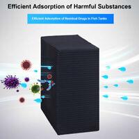 Eco-Aquarium Water Purifier Cube Original Cleaner Carbon Filter for Fish Tank UK