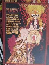 """Doors July 20th, 1967 Victoria Arena Concert Handbill Postcard Approx 3.5x4.75 """""""