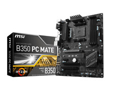 MSI B350 PC MATE - ATX Motherboard for AMD Socket AM4 CPUs