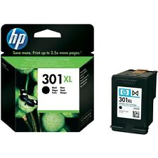 Ink cartridge black ORIGINAL HP 301 XL (CH563EE) for Deskjet 3050A and-All