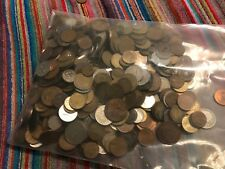 20 Pound Bag of Assorted World Coins Mix of 1700's, 1800's, 1900's and 2000's